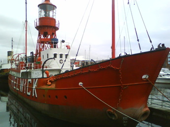 Hellwick lighthouse ship