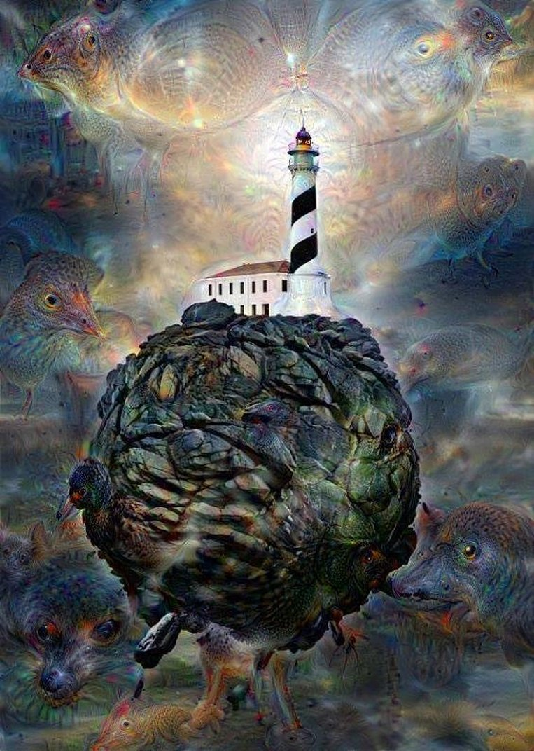 Deep Dream Without Gravity