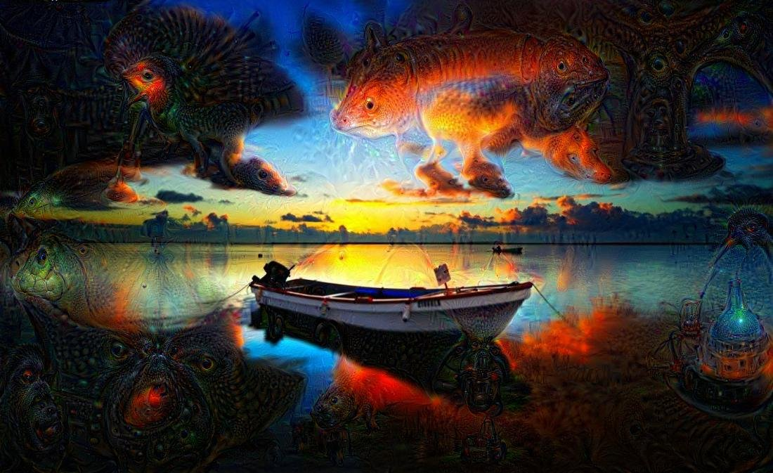 Deep Dream Seascape Generator link