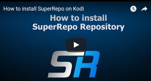 super repo kodi installation