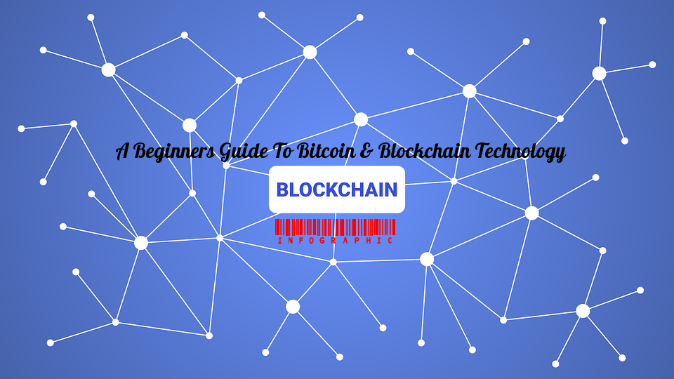 A Beginner's Guide To Bitcoin & Blockchain Technology [Infographic]