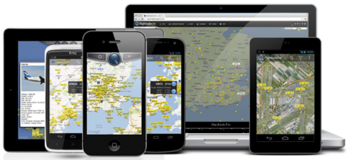 Flightrader24 Live global flight tracking